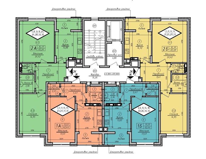 Жк цветы план домов