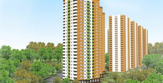ЖК Orange City от GEOS визуализация