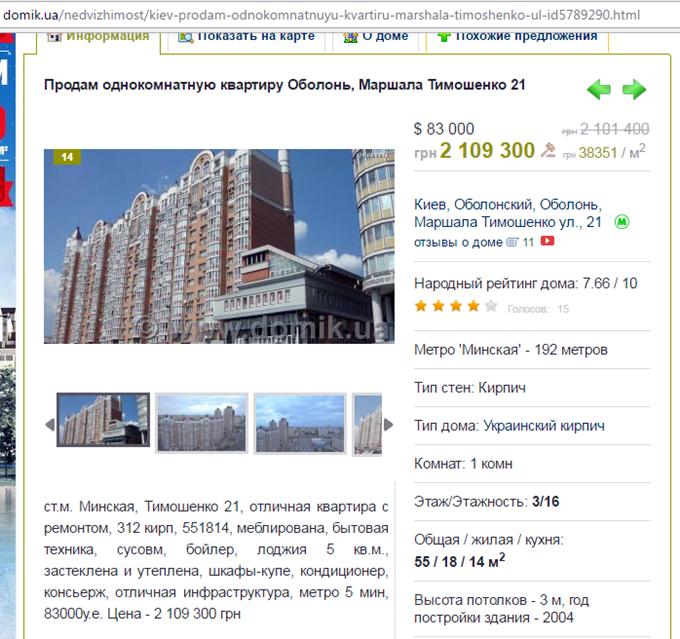 ЖК Смарт Плаза Оболонь продажа квартир на вторичке