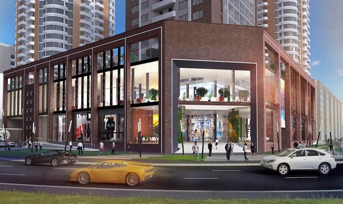 ЖК Смарт Плаза Оболонь торговый центр в новостройке