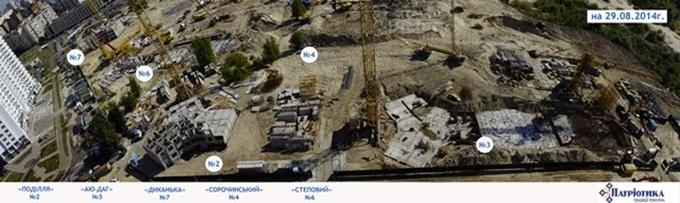 Год спустя: ЖК «Патриотика» от «Аркады» 2014 год