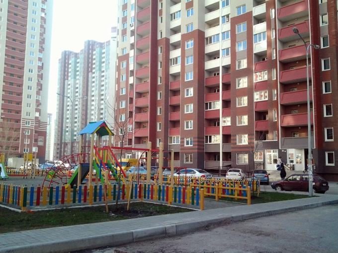 Год спустя: ЖК «Патриотика» от «Аркады» детские площадки