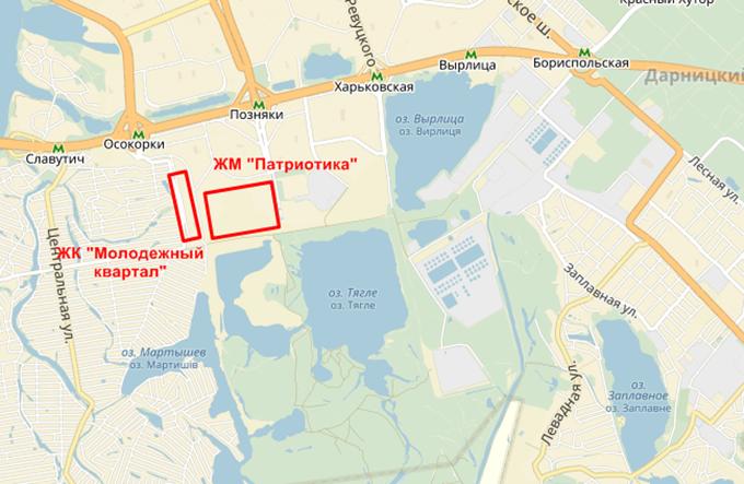 Год спустя: ЖК «Патриотика» от «Аркады» на карте