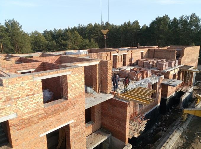 ЖК Квартал Парковый в Обухове ход строительства