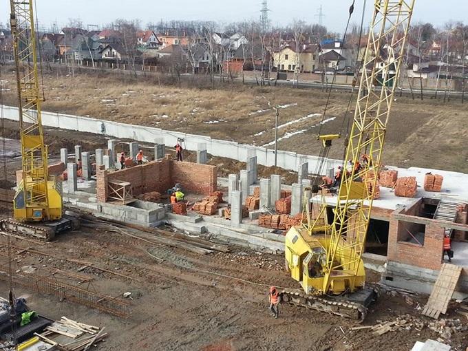 ЖК «Новый Хотов» ход строительства
