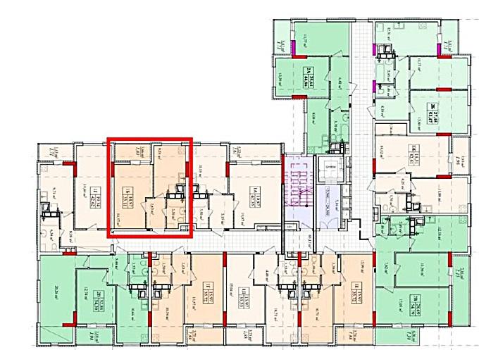 ЖК Solo House поэтажный план