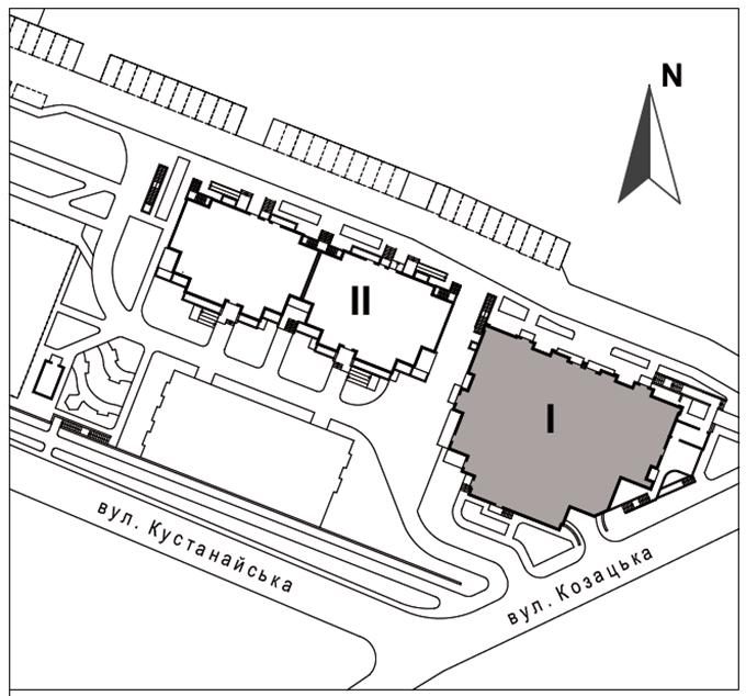 ЖК West House на Кустанайской генплан