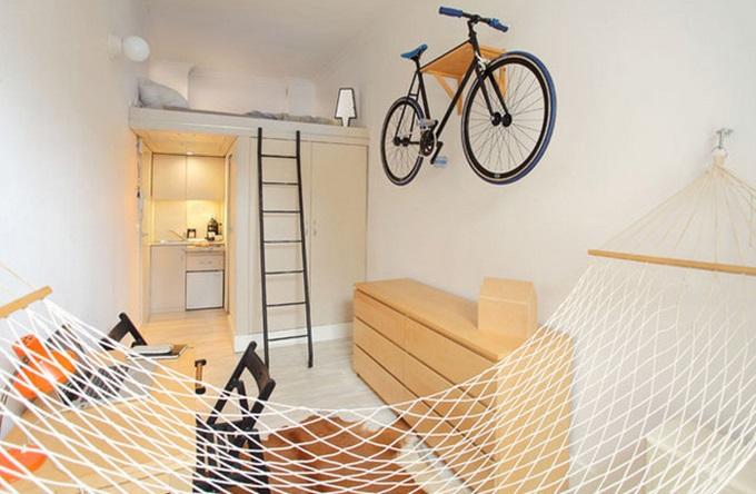 визуализация маленькой квартиры