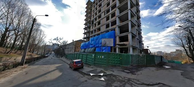 ЖК Henesi House на Татарке ход строительства несколько лет назад