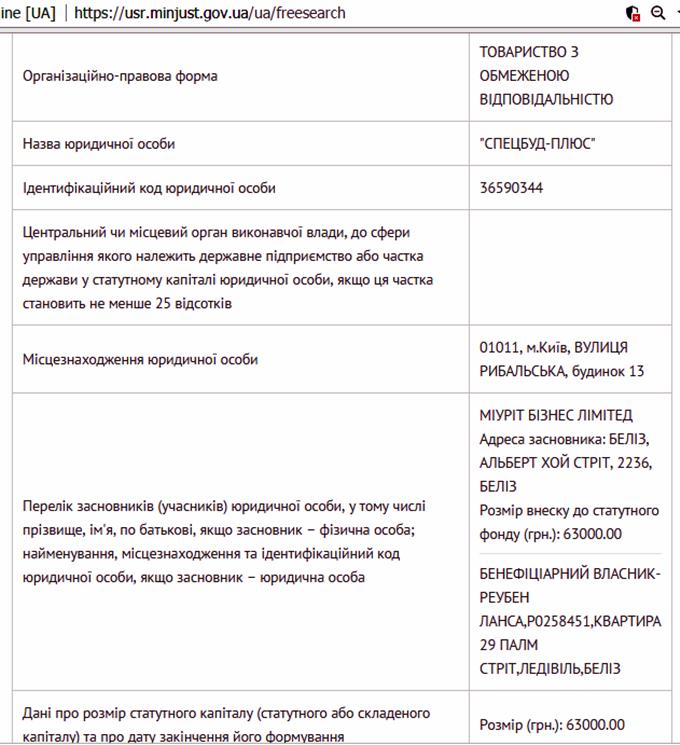 ЖК Новомостицкий от Укрбуд данные о генподрядчике