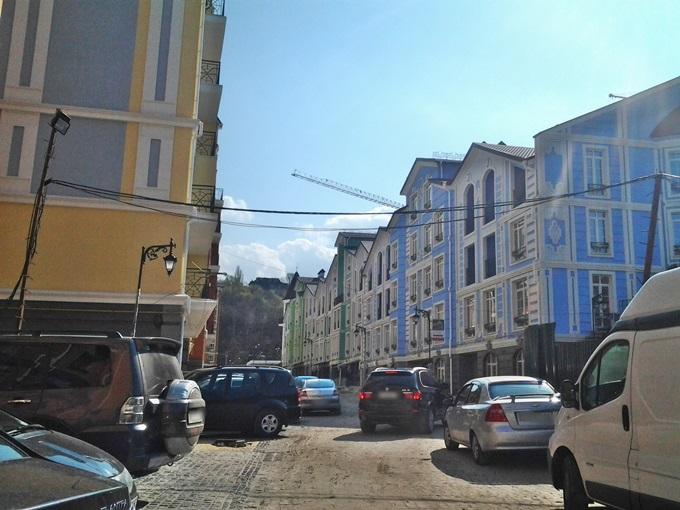 ЖК Подол Град фасад