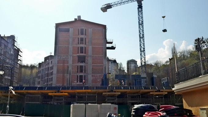 ЖК Подол Град ход строительства домов 8-11