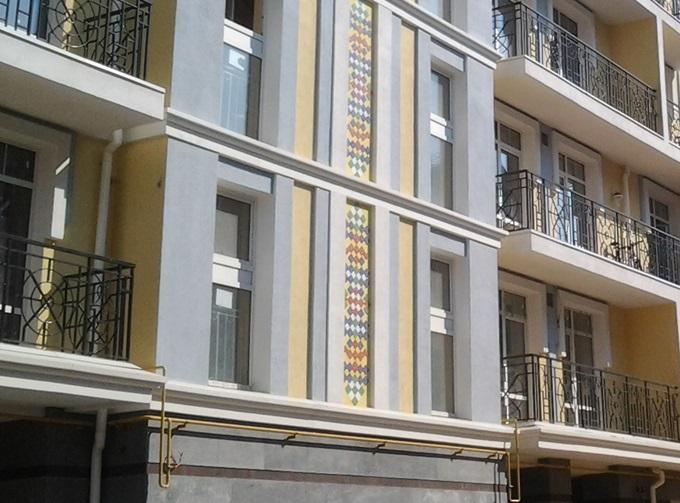ЖК Подол Град украшения фасадов