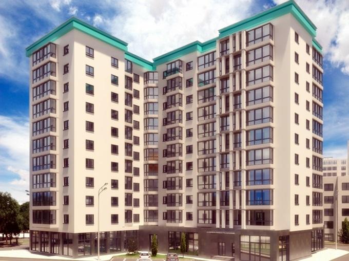 ЖК SkyCity в Борисполе визуализация