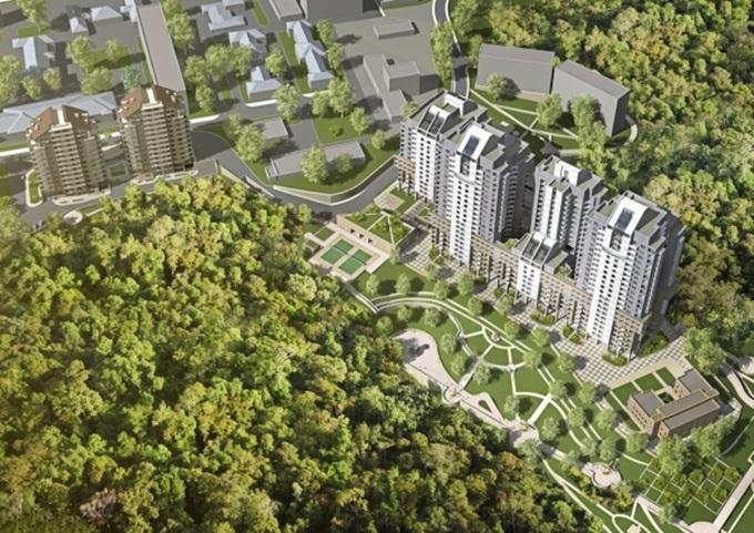 ЖК поблизости от крупных парков ЖК Кирилловский гай