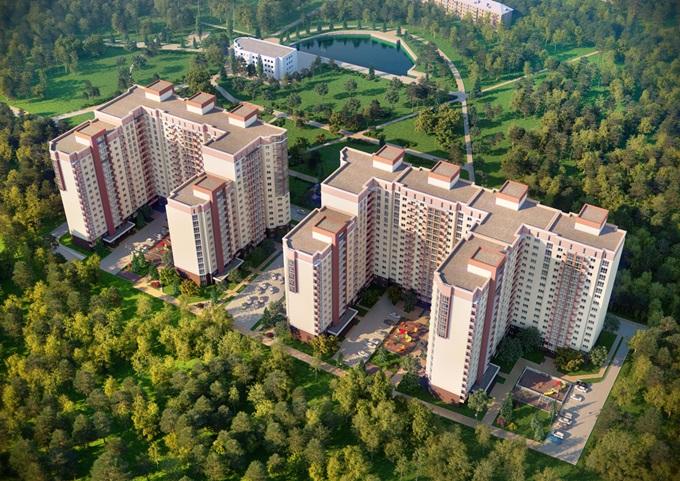ЖК поблизости от крупных парков ЖК Козацкий
