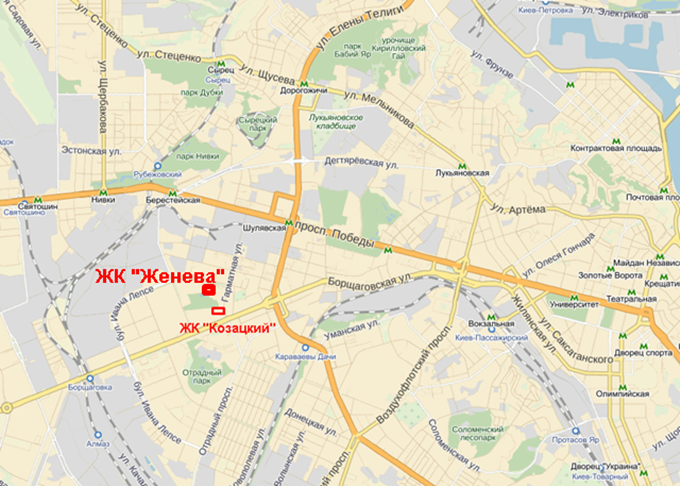 ЖК поблизости от крупных парков ЖК рядом с парком Орлятко