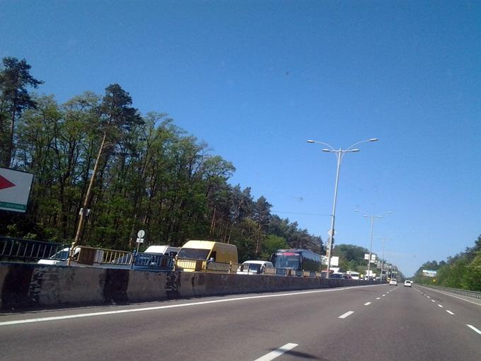 ЖК Continent Буча пробки