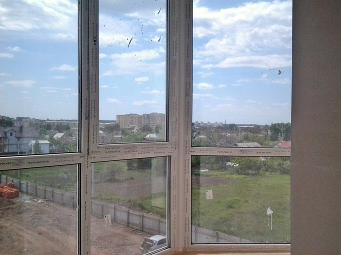 ЖК Continent Буча вид из окна