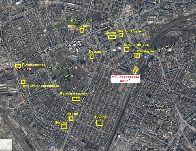 ЖК Караваевы дачи окружающая инфраструктура