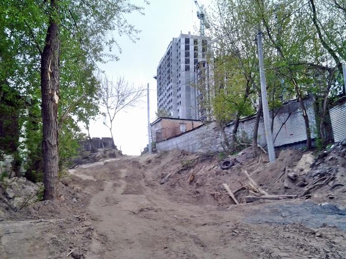 ЖК на Замковецкой-Новомостицкой подход с Мостицкой