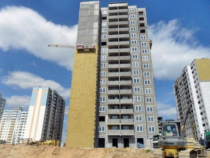 ЖК на Замковецкой-Новомостицкой утепление пятого дома