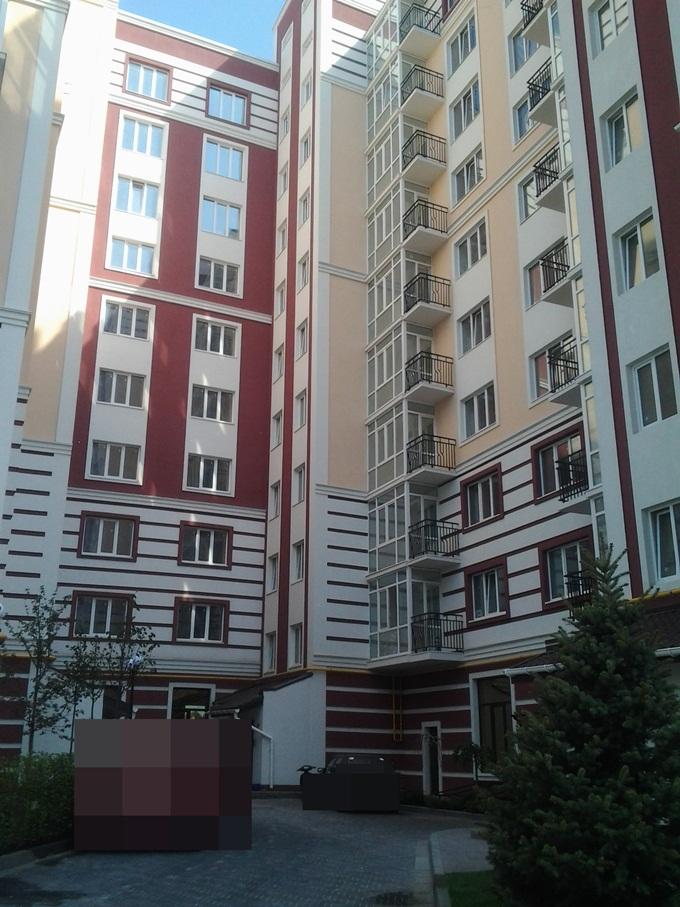 ЖК Покровский в Гостомеле балконы