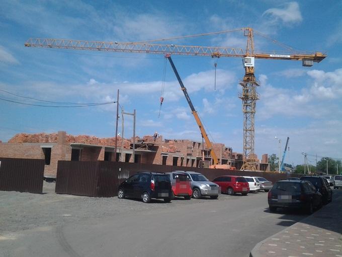 ЖК Покровский в Гостомеле ход строительства домов 3 и 4