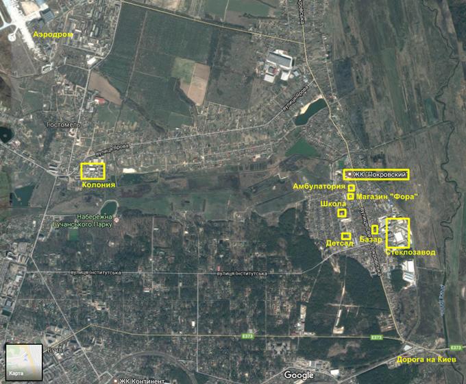 ЖК Покровский в Гостомеле инфраструктура