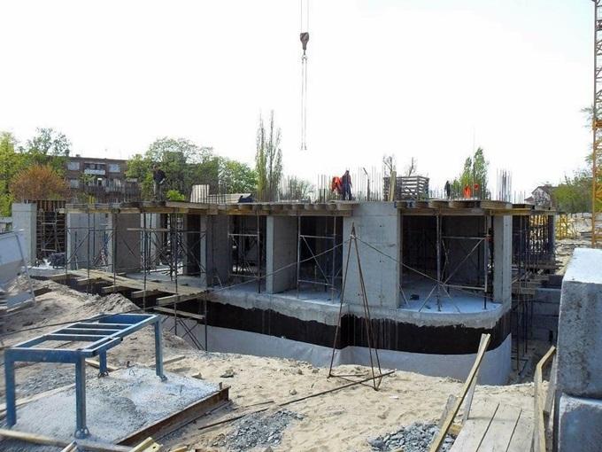 Жилмассив на Каховской 60 ход строительства второго дома