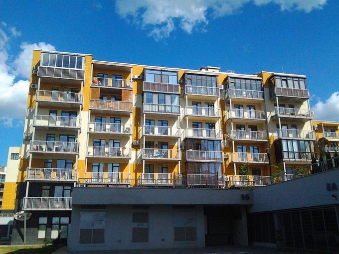 ЖК Липинка балконы