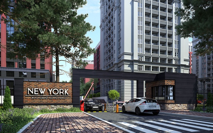 ЖК New York Towers Ирпень территория