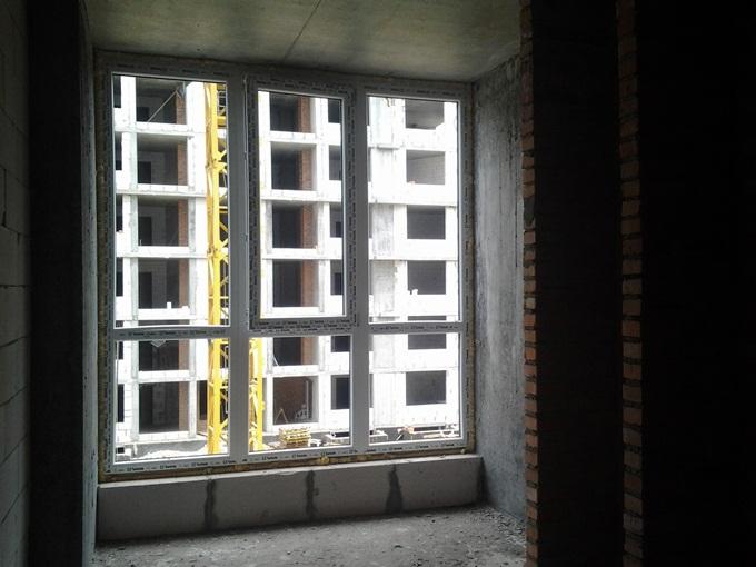 ЖК New York Towers Ирпень вид из окон