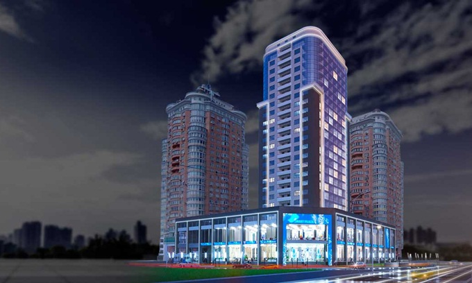 возле ТРЦ Dream Town ЖК Smart Plaza Obolon