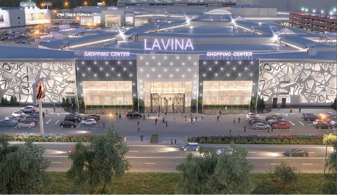 ЖК возле ТРЦ Lavina Mall