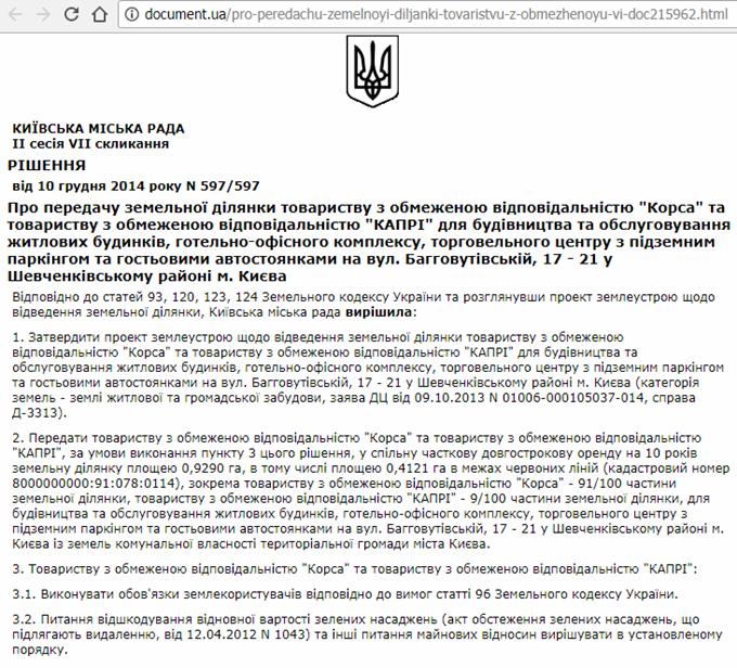 ЖК Баггоутовский разрешение строить жилищно-офисный центр