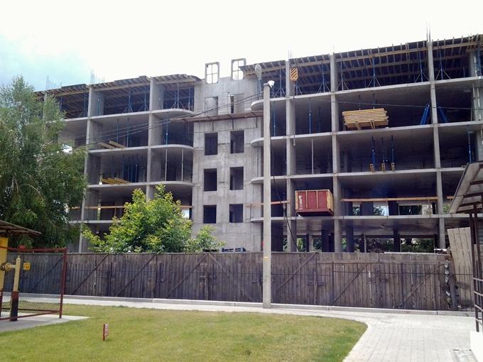 ЖК Черновола ход строительства второго дома