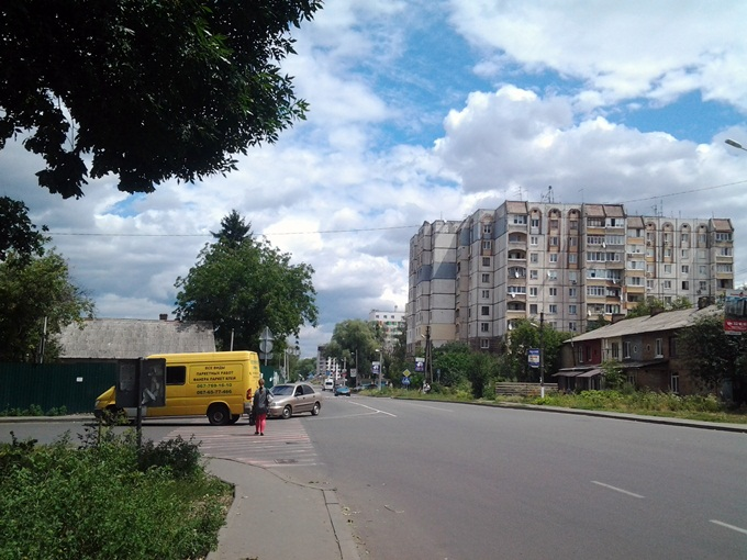 ЖК Черновола остановка