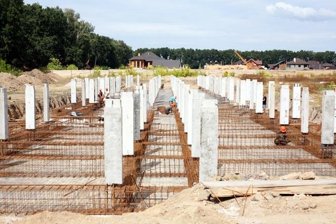 ЖК «Оранж Парк» ход строительства 2015