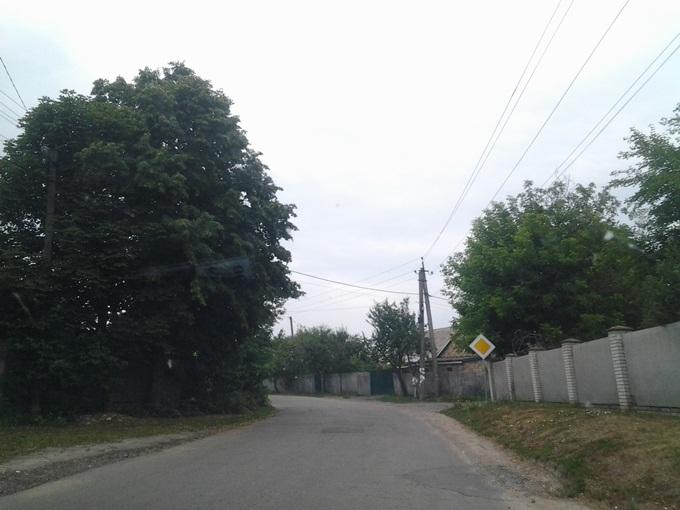 ЖК Озерный Гай Гатное дорога к остановке