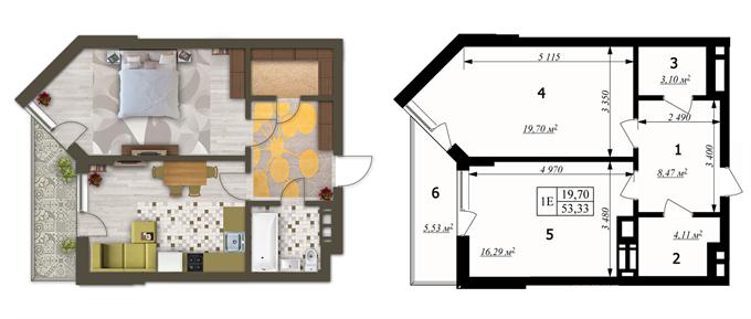 ЖК RichНouse Планировки квартир