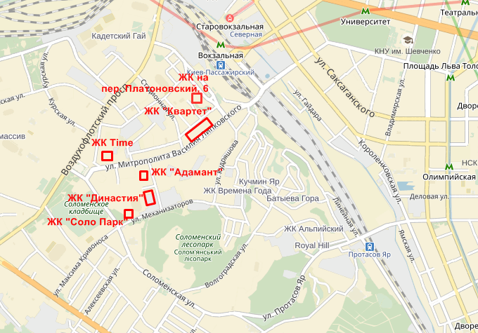 Дом по Платоновскому переулку 6 на карте