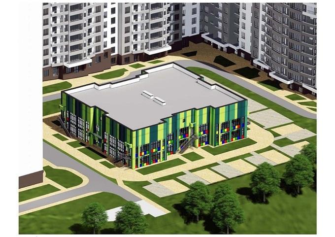 В комплексе будет свой детский садик