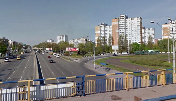 Вид на нынешний микрорайон Теремки-3