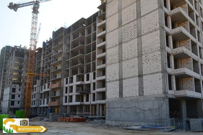 ЖК Green Side в Ирпене ход строительства