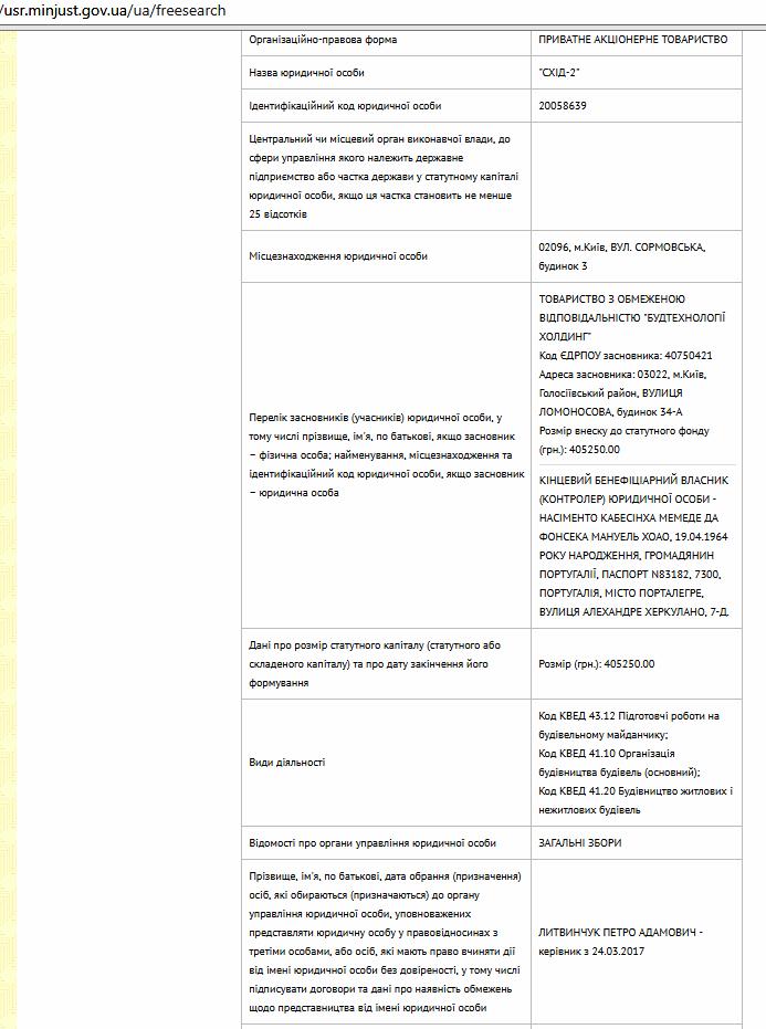 ЖК Ориентир данные о застройщике