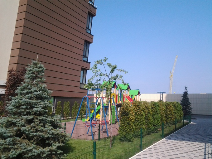 ЖК ParkLand Детские площадки