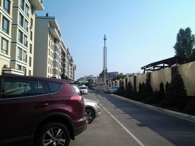 ЖК ParkLand паркинг у дома