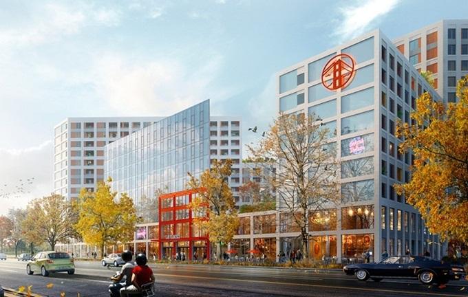 ЖК Сан Франциско Креатив Хаус визуализация жилого комплекса