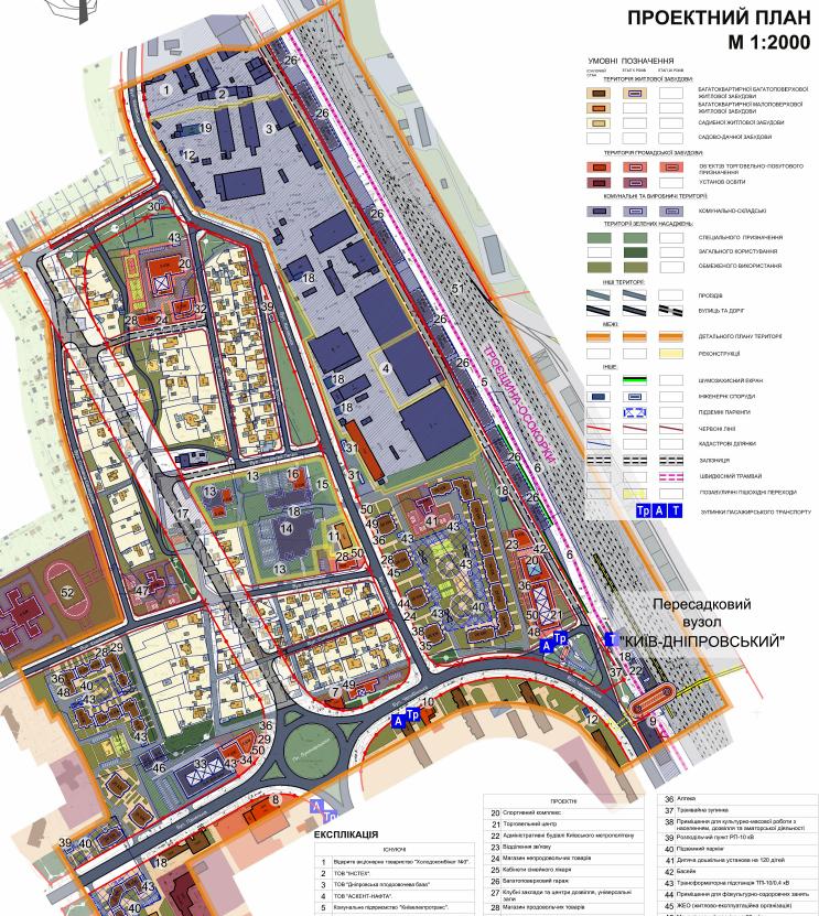 ДПТ Никольская Слободка проектный план территории
